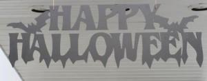 Halloween Schriftzug