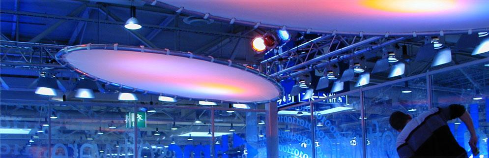Produkte für die Werbetechnik, Lüftungstechnik, Behälter- und Anlagenbau, Messebau und Lichtwerbung